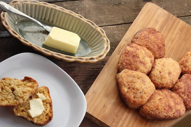 gluten-free crockpot cinnamon biscuits