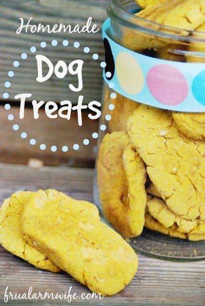 Homemade Dog treats Recipe