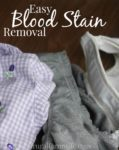How To Remove Bloodstains From Clothing