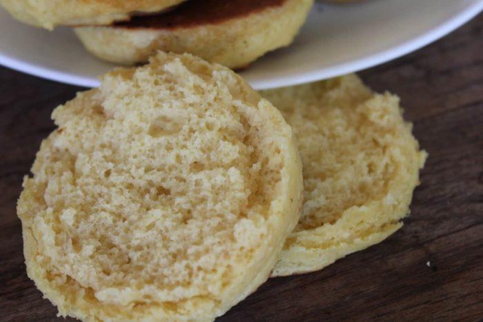 Gluten-Free English Muffins Recipe | The Frugal Farm Wife