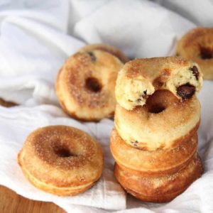 Baked Doughnuts: Gluten-Free Banana Chocolate Chip