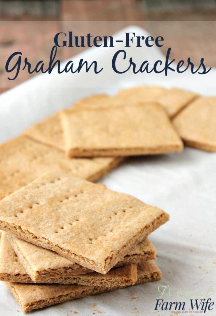 Gluten-Free Graham Cracker Recipe | The Frugal Farm Wife