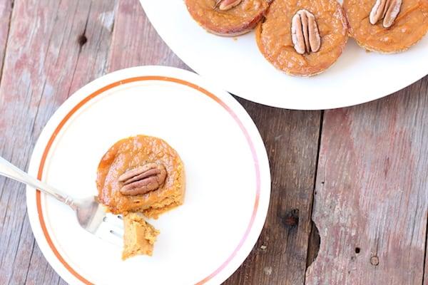 gluten-free pumpkin pie bites